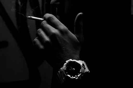 Cigarette, Watch, Tobacco, Smoking, Addiction