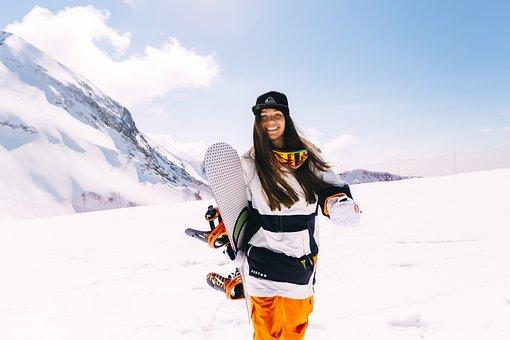 Sports, Extreme, Mountains, Snowboard, Krasnaya Polyana