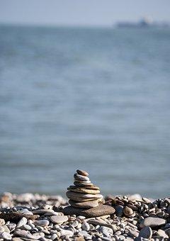 Stone, Sassi, Beach, Stones, Summer, Sea, Balance