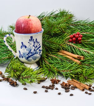 Christmas, Healthy, Health, Apple, Cinnamon, Food