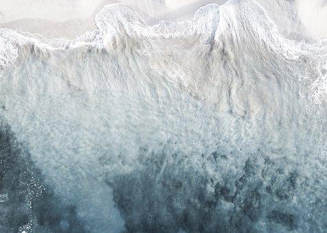 Ocean, Drone, Art, Water, Mavic, Dji, Beach, Aerial