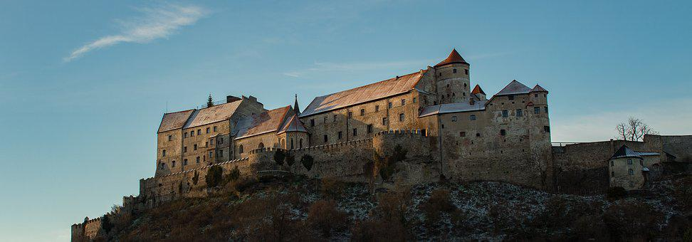 Castle, Burghausen, Bavaria, Middle Ages