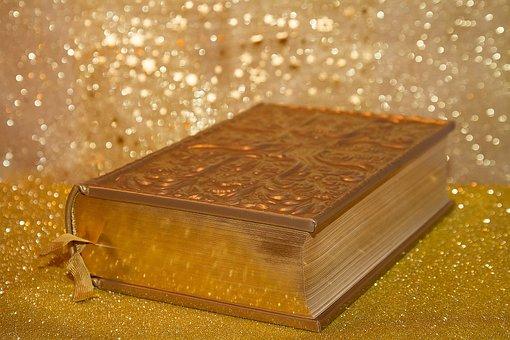 Book, Gold, Bible, Education, Read, Learn, School