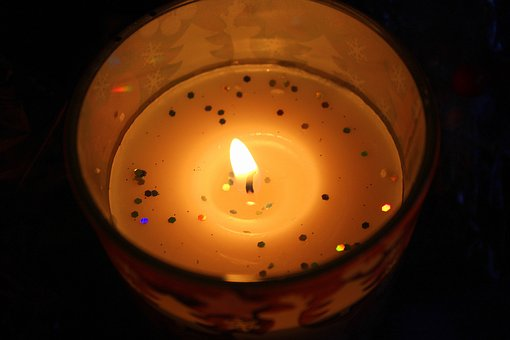 Candle, The Flame, Light, Evening, Scented, Decoration
