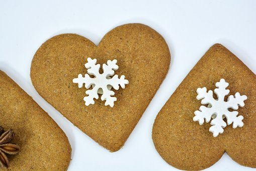 Christmas, Gingerbread, Decoration, Food, Holiday