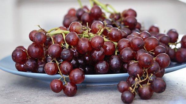 Fresh, Fruit, Grape