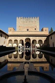 Alhambra, Palace, Spain, Granada, Architecture