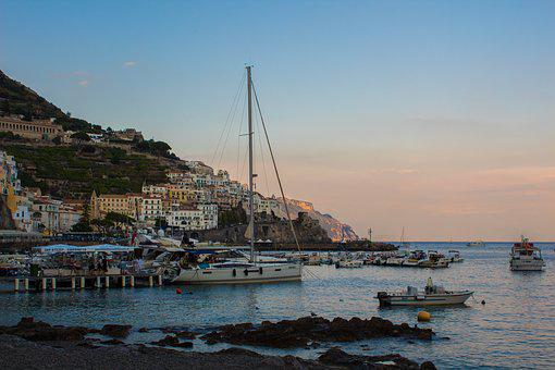 Italy, Landscape, Water, Holiday, Mediterranean, Sea