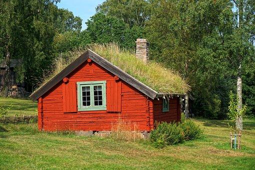 Hut, Farmhouse, Old, Farm, Home, Antique, Wood, Truss