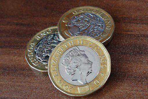 Pound Coin, British, New, Money, Finance, Pound