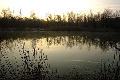 Nature, Water, Landscape, Sun, Sunset, Nature Sunset