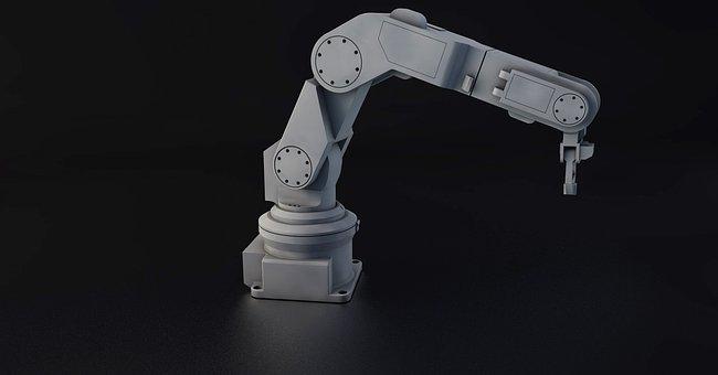Robot, Robot Arm, Strong, Machine, Sculpture