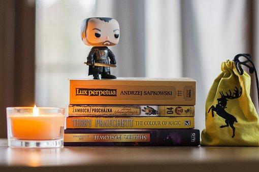 Book, Stack, Stannis Baratheon, Game Of Thrones