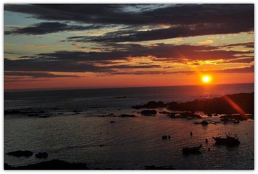 Sunset, Evening Sun, Setting Sun