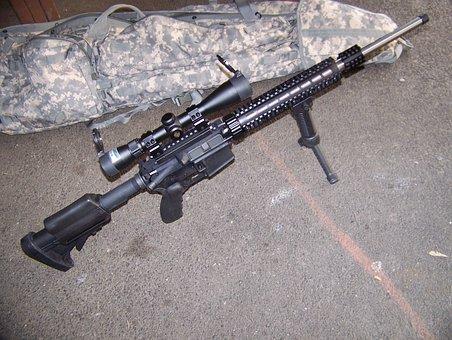 Weapon, Gun, Rifle, Wildcat, Caliber, Ar, Ar15, 6x45