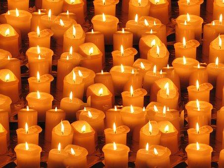 Candles, Light, Lights, Evening, Advent, Christmas