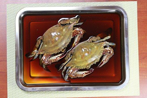 Soy Crab, Blue Crab, Fishery, Fresh, Seafood