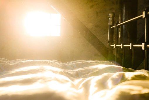 Bed, Dust, Sun, Morning, Wake Up, Early, Sleep, Bedroom