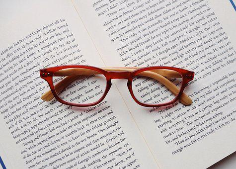 Read, Reading, Book, Glasses, Readers, Literature