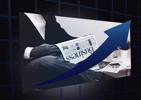 Business, Success, Trend, Newspaper, Businessman