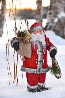 Father Christmas, Tradition, Christmas, Gifts, Winter