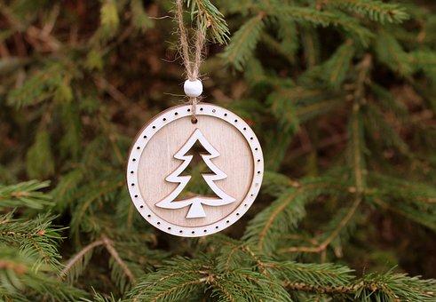 Christmas Tree, Ornament, Holidays, Christmas, Tree