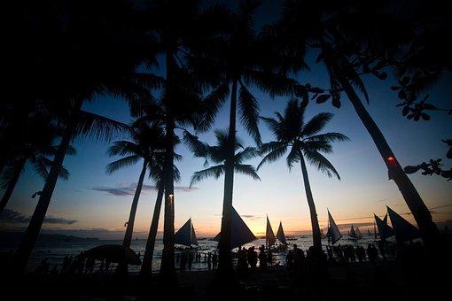 Boracay, Beach, Philippines, Paradise, Blue, Coast