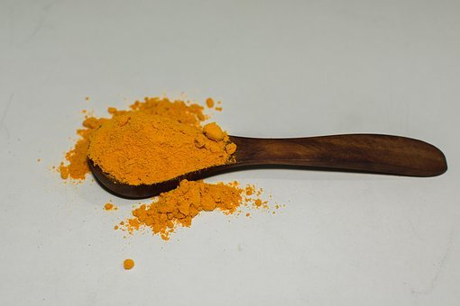 Turmeric, Spice, Curry, Component, Powder, Cooking