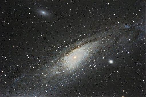 Andromeda, Galaxy, Andromeda Galaxy, Spiral Galaxy