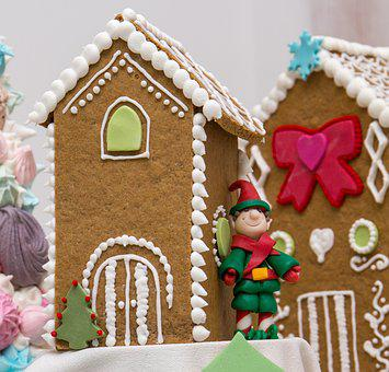 Ginger Bread, Christmas House, Christmas, Gingerbread
