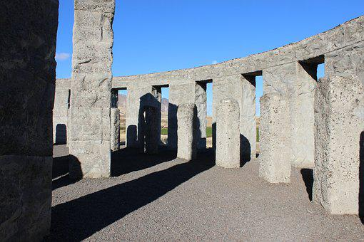 Columbia Gorge Usa, Stonehenge, Architecture, Historic