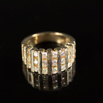 Ring, Diamond, Gold, Diamond Ring, Jewel, Jewelry