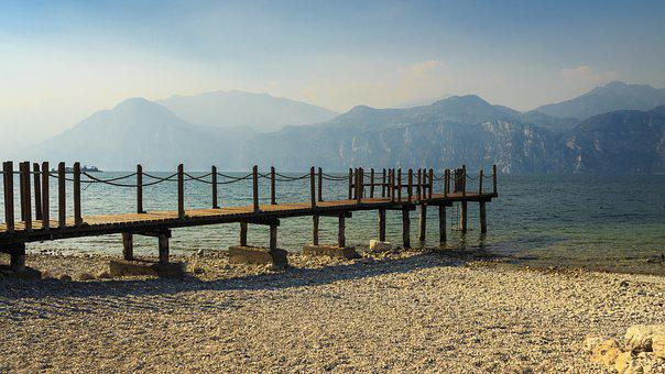 Garda, Italy, Holiday, Web, Lake, Riva, Port, Panorama