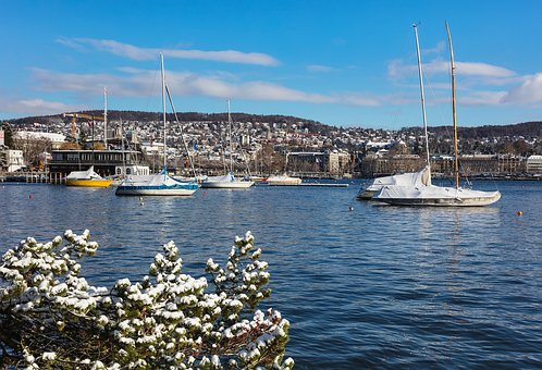 Zurich, Switzerland, View, City, Lake Zurich, Lakeside