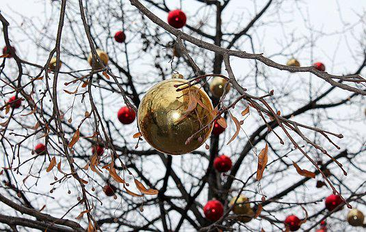 New Year's Eve Ball, New Year's Eve, Christmas Tree Toy