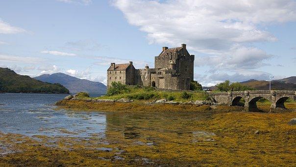 Eilean, Castle, Scotland, Donan, Landmark, Historic