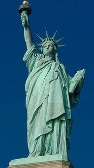 United States, New York, Statue Of Liberty, Monument