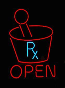 Neon Sign, Pharmacy, Store, Sign, Neon, Symbol, Shop