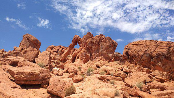 Valley Of Fire State Park, Rock, Red Stone