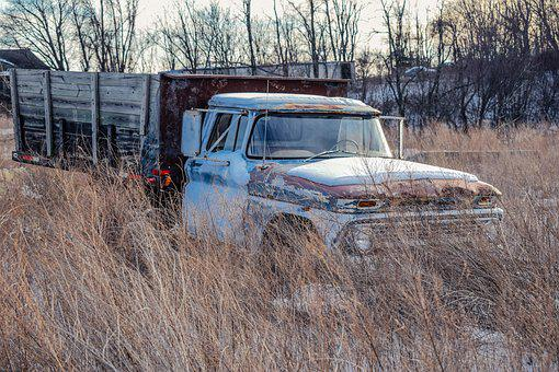 Old Truck, Rusty, Truck, Old, Car, Metal, Vehicle