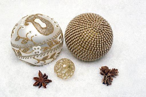 Christmas Bauble, Ball, Christmas