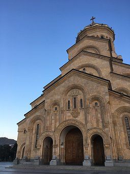 Cathedral, Georgia, Tbilisi, Architecture, Tourism