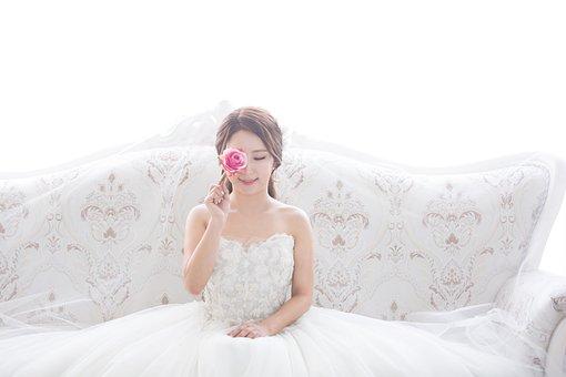 Wedding, Marriage, Priest, Dress Up, Wedding Dress