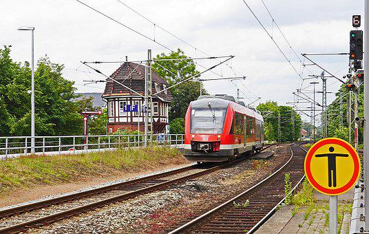 Rendsburg, Historical Positioner, Modern Train