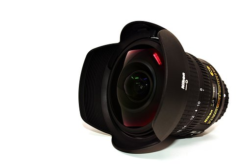 Lens, Fisheye, Photo Accessories, Photography, Camera
