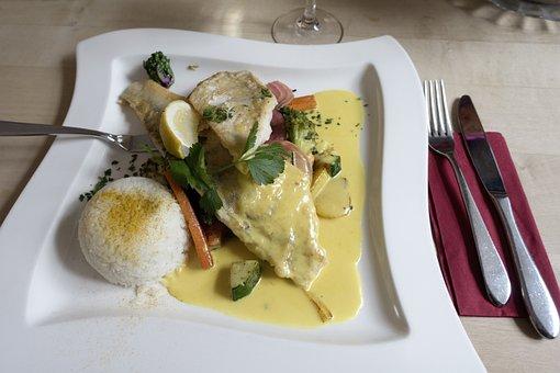 Food, Plate, Knife, Fish Knife, Fork, Meal, Court
