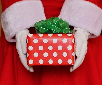 Santa, Christmas Present, Present, Gift, Christmas
