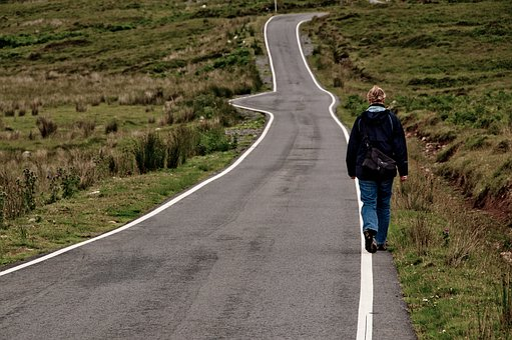 Road, Away, On The Go, Scotland, Path, Hiking, Go