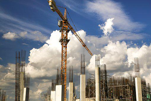 Build, Crane, Works, Home, Sky, Real Estate, The Work