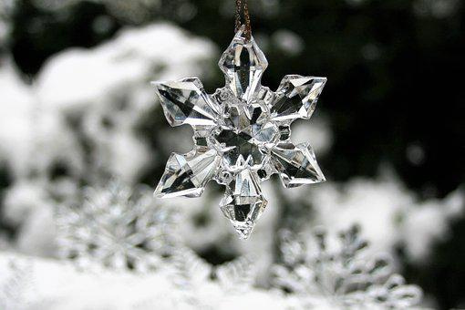 Asterisk, Winter, Snow, Christmas, Holidays, Ice
